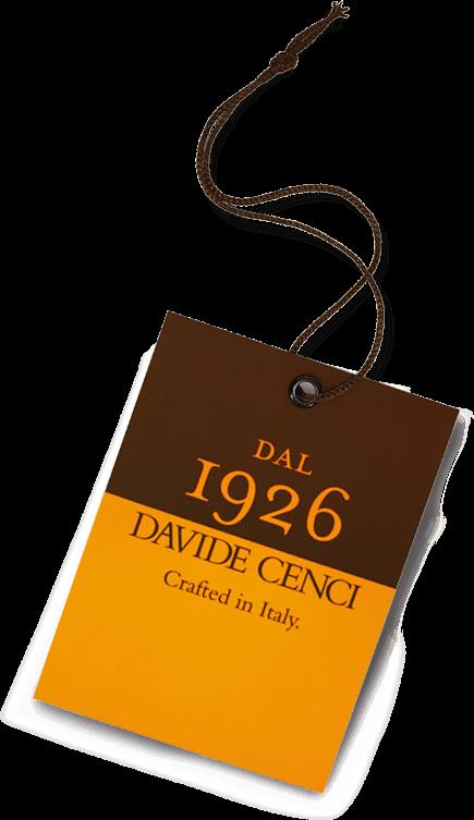 Davide Cenci - Dal 1926 etichetta